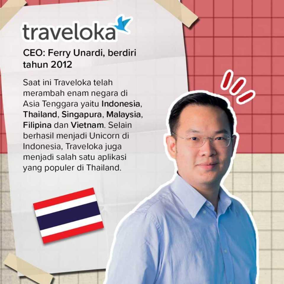 Startup Ekspansi Traveloka