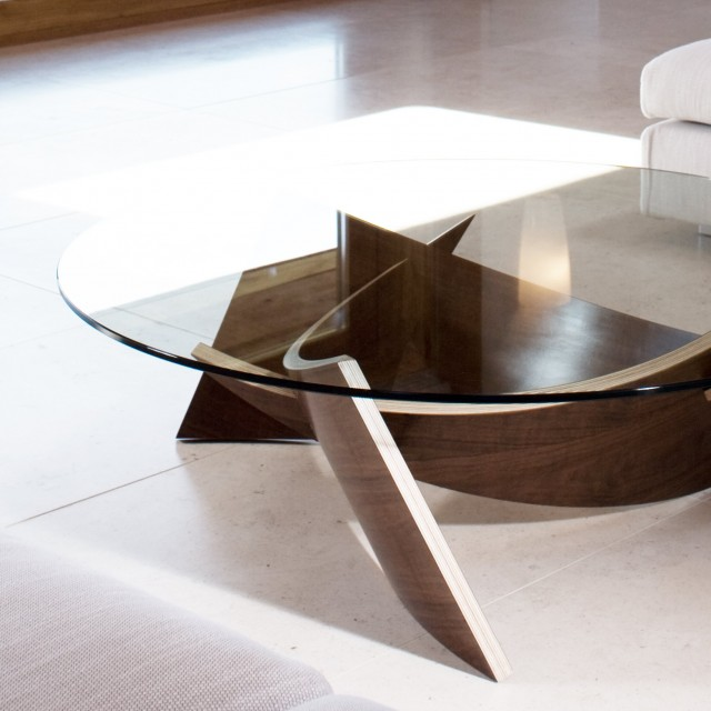 round glass top coffee tables with wood