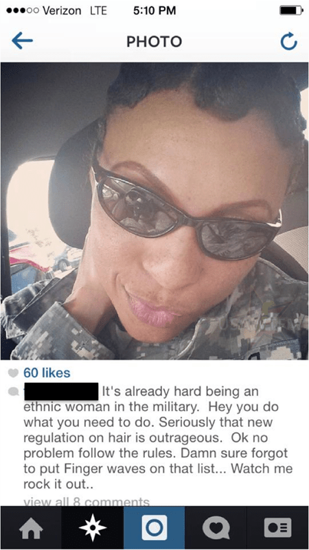 She Says Its Hard Being An Ethnic Woman In The Military