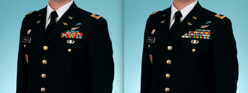 Dress Army Uniform Officers Reserve
