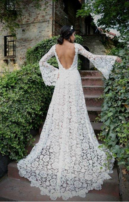 vestido de noiva para campo barato online -
