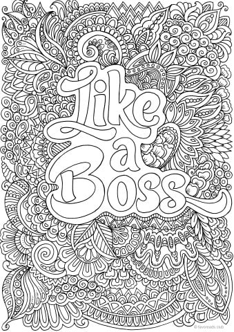 FREE Adult Coloring Pages: 9 Gorgeous Printable Coloring Pages To ...