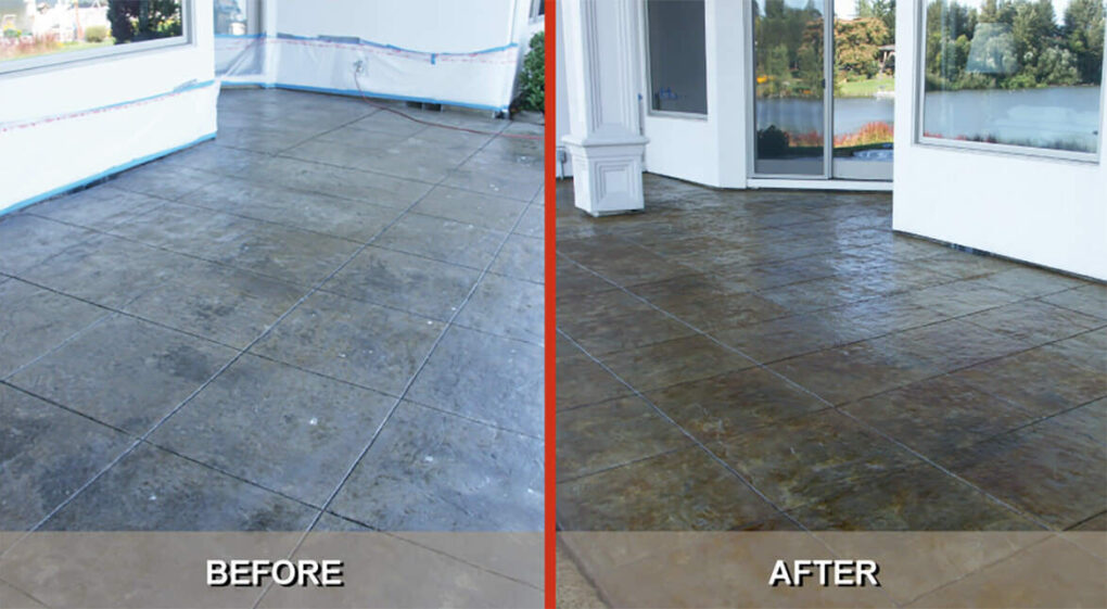 tips to restore stamped concrete