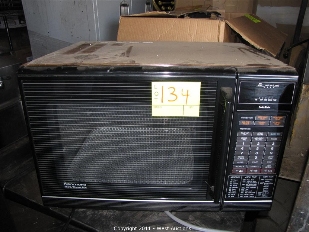 kenmore microwave and convection oven