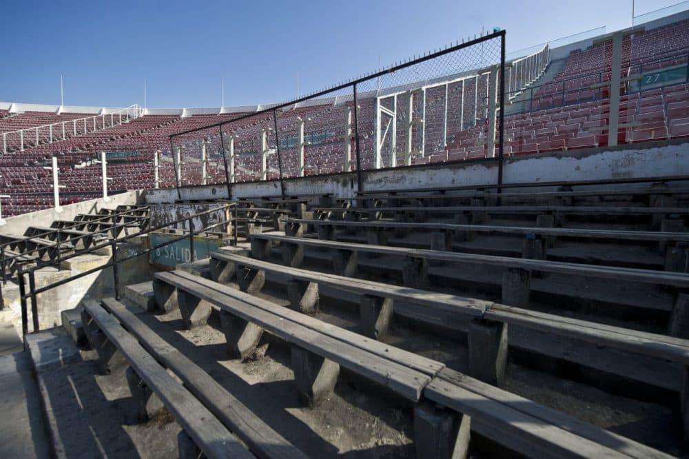 Image result for estadio nacional chile 1973