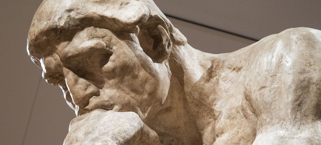 Image result for the thinker