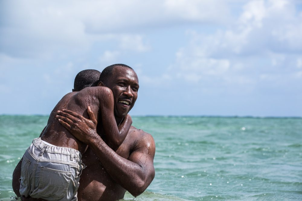 "Alex Hibbert and Mahershala Ali in ""Moonlight."" (Courtesy David Bornfriend/A24)"