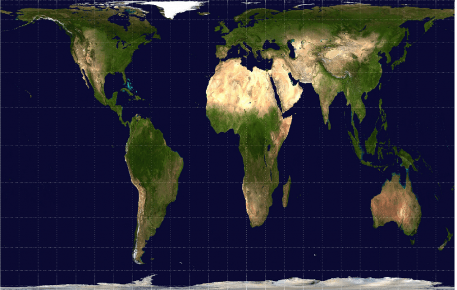 Arriving At Boston Public Schools  More Accurate     And Inclusive     The Gall Peters projection map keeps the land masses of continents  proportional to how they