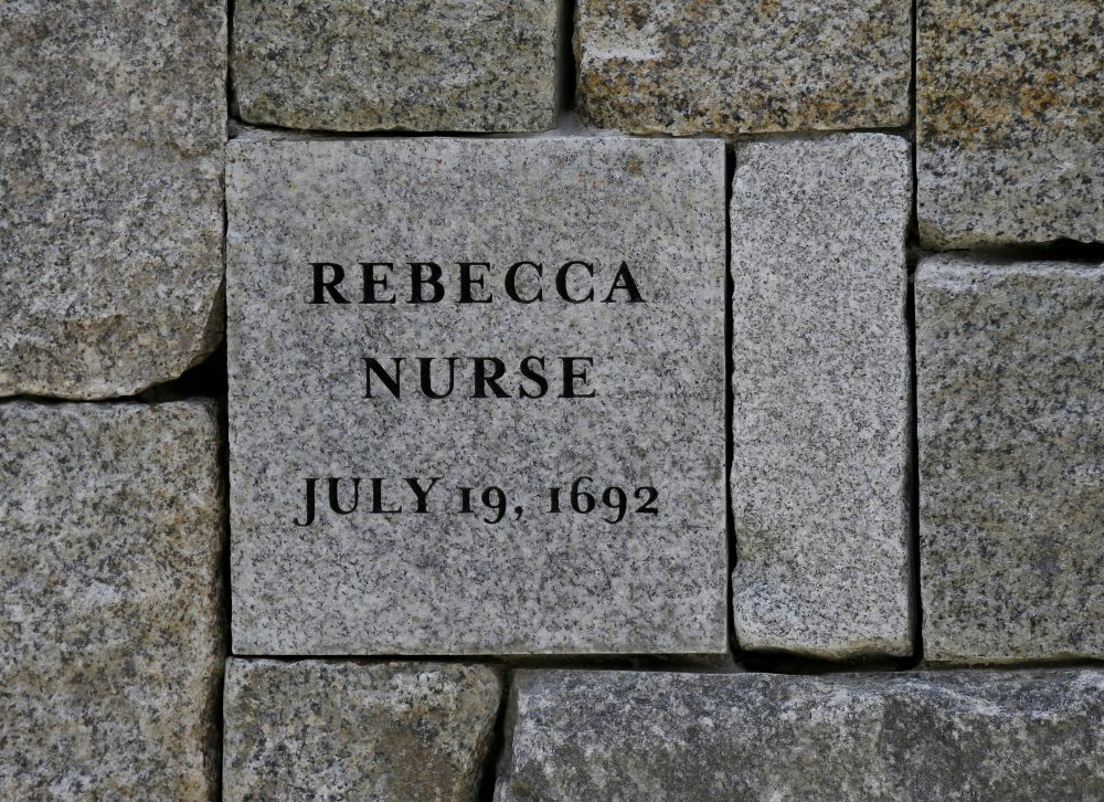 Rebecca Nurse was one of five women hanged as witches 325 years ago today at Proctor's Ledge during the Salem witch trials. (Stephan Savoia/AP)