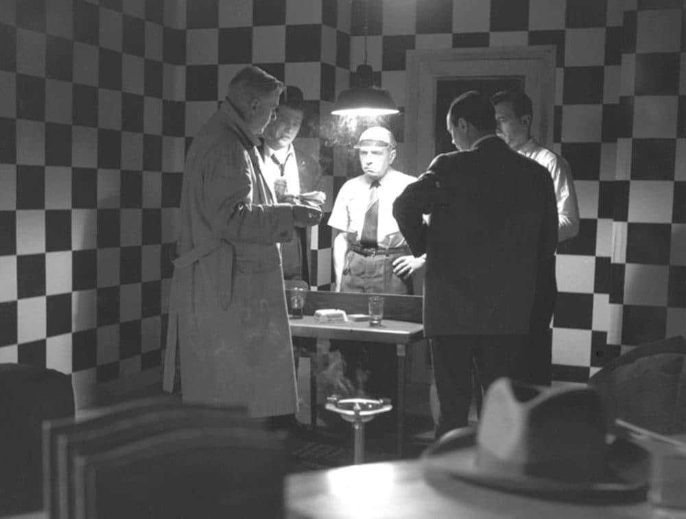 "Roger Duchesne in Jean-Pierre Melville's ""Bob Le Flambeur."" (Courtesy Rialto Pictures)"