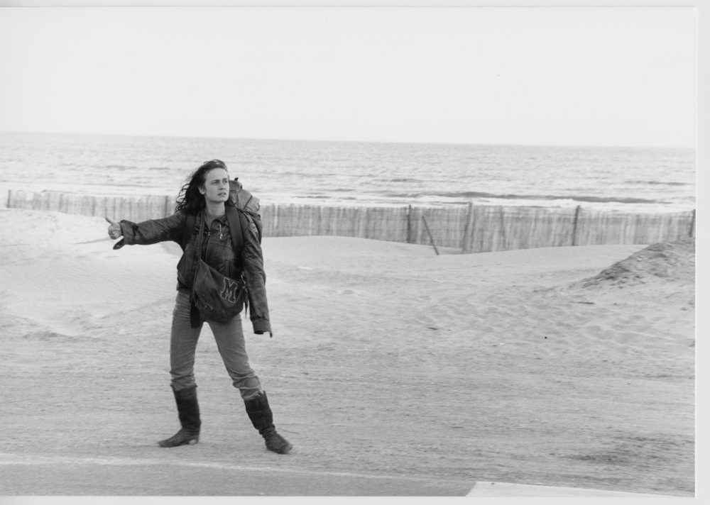 "Sandrine Bonnaire as Mona in ""Vagabond."" (Courtesy The Criterion Collection)"