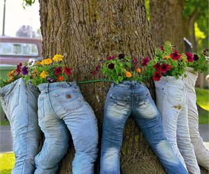15 Recycled Items to Add Personality to Your Garden - Page 3 of 3 - Garden Lovers Club