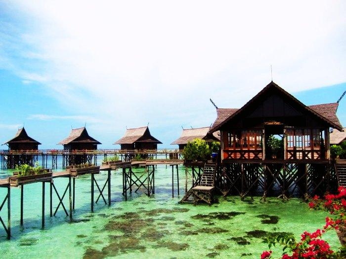 A romantic resort in Sabah