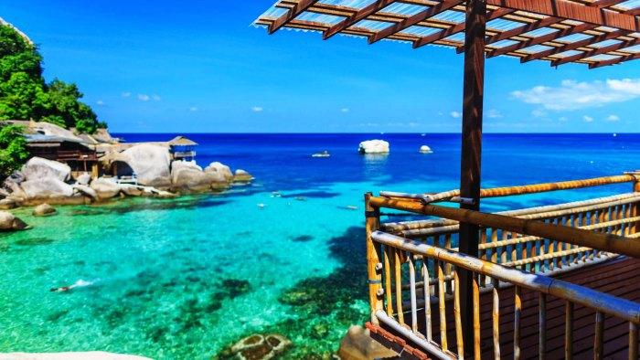 A romantic resort in Koh Samui