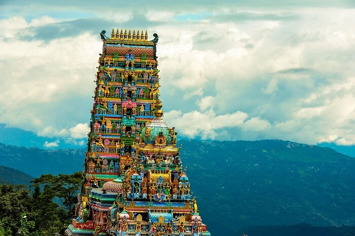 A splendid shot of the Rameshwaram Temple of the original Char Dham Yatra circuit