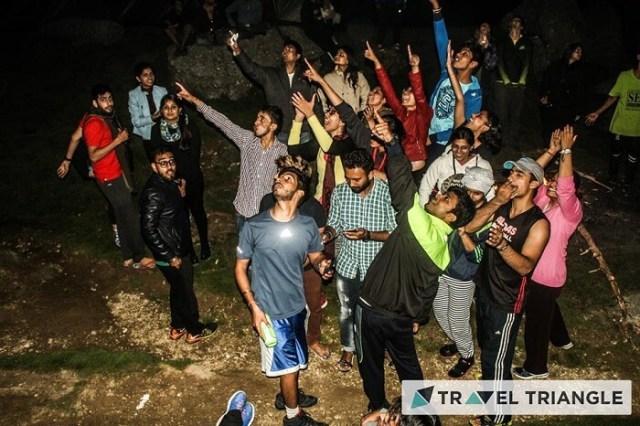 Aditi and her friends enjoy in McLeodganj
