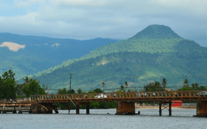 The riverside town of Kampot is a sight to behold