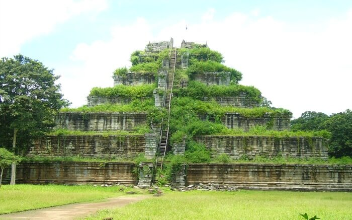 The beautiful Koh Ker temple