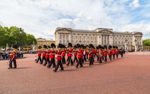 Change of Guards ceremony in London