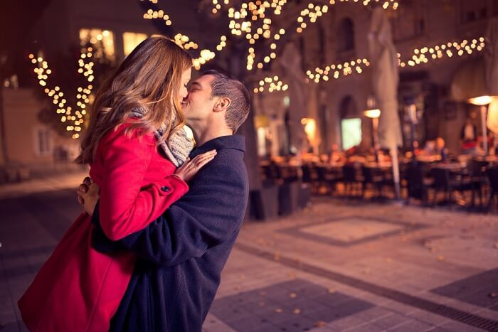 11 Ultra Romantic New Year Celebration Ideas For Couples a couple spending a romantic New Year s eve