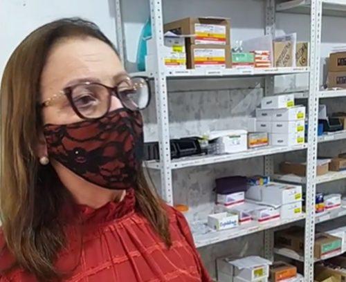 Prefeita doutora Gorete vai a hospital socorrer feridos - Foto: reprodução