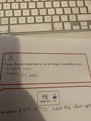 Teste que Daniel respondeu sobre desejar ter amigos - Foto: arquivo pessoal