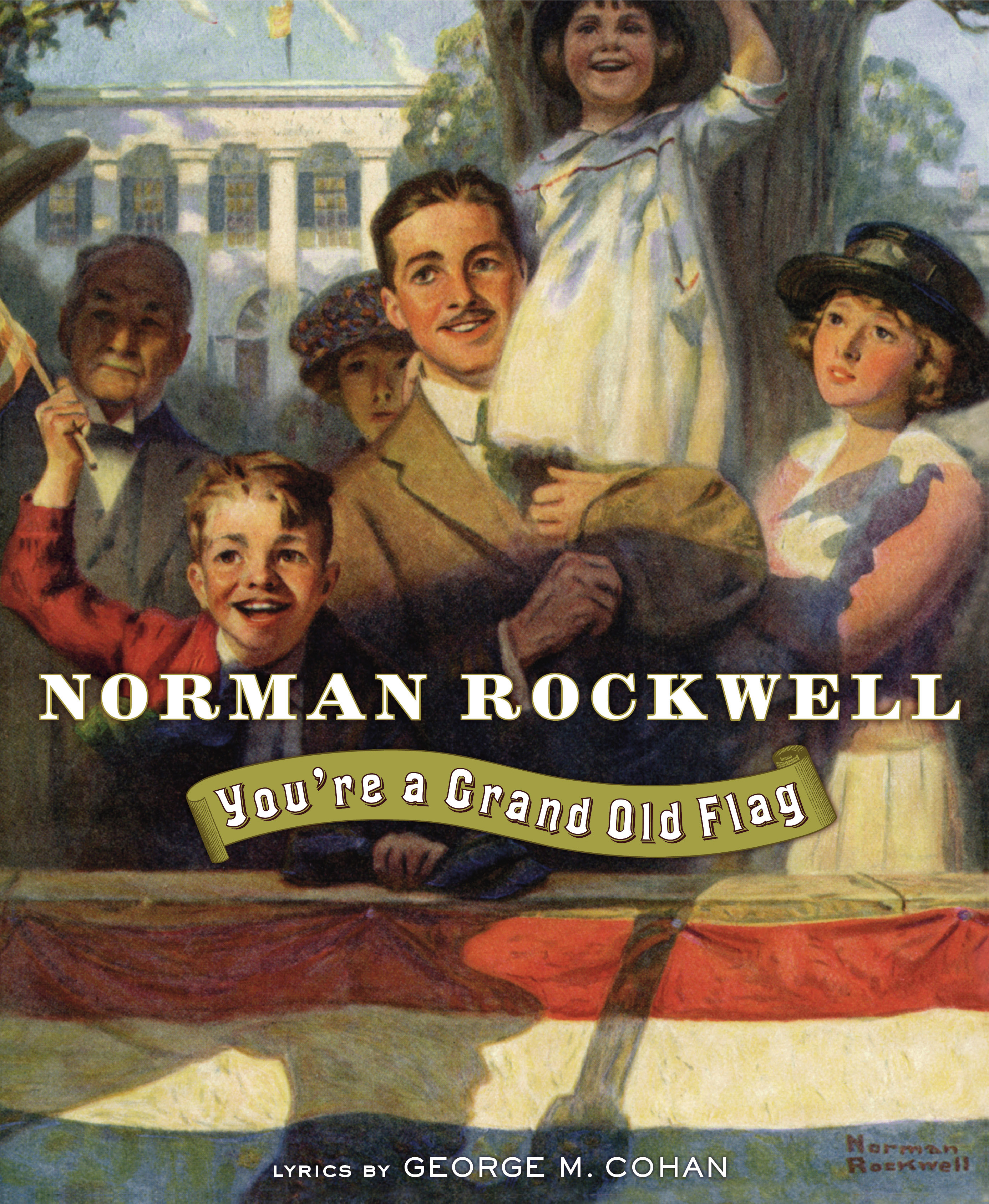 Image result for you're a grand old flag norman rockwell