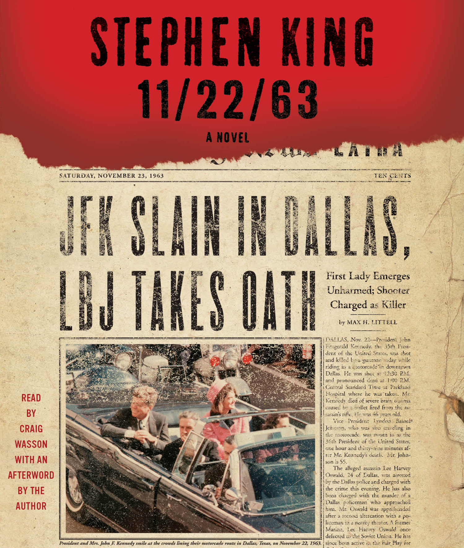 11 22 63 Audiobook on CD by Stephen King  Craig Wasson   Official     Cvr9781442344280 9781442344280 hr  11 22 63
