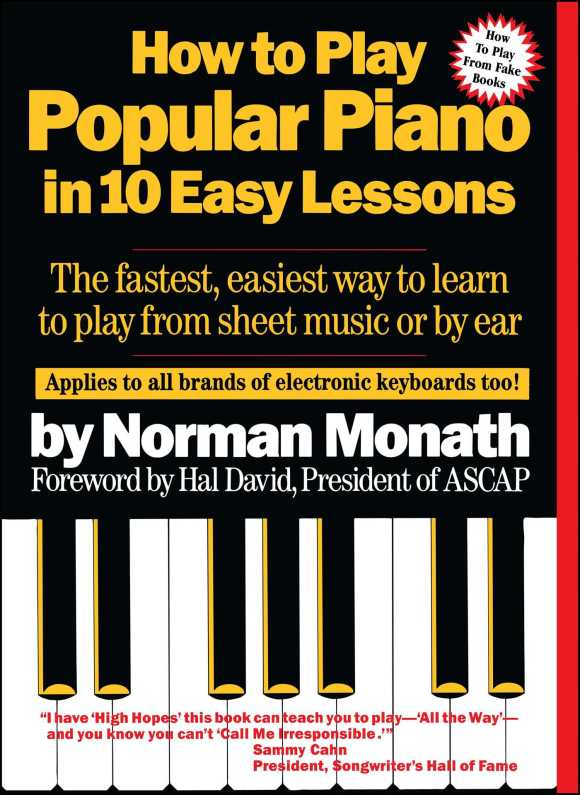 How To Play Popular Piano In 10 Easy Lessons | Book by Norman ...