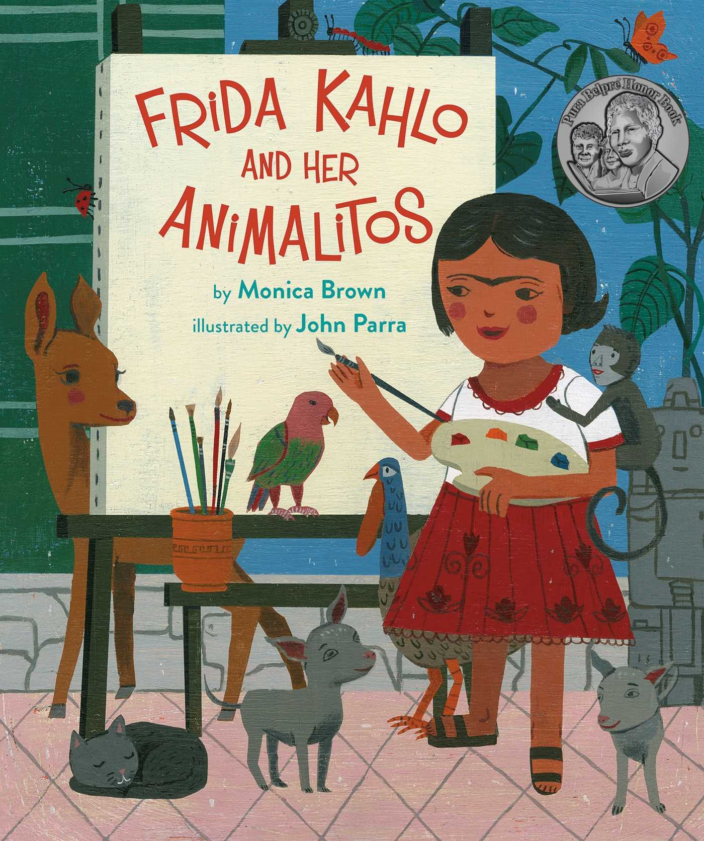 Frida Kahlo And Her Animalitos Book By Monica Brown