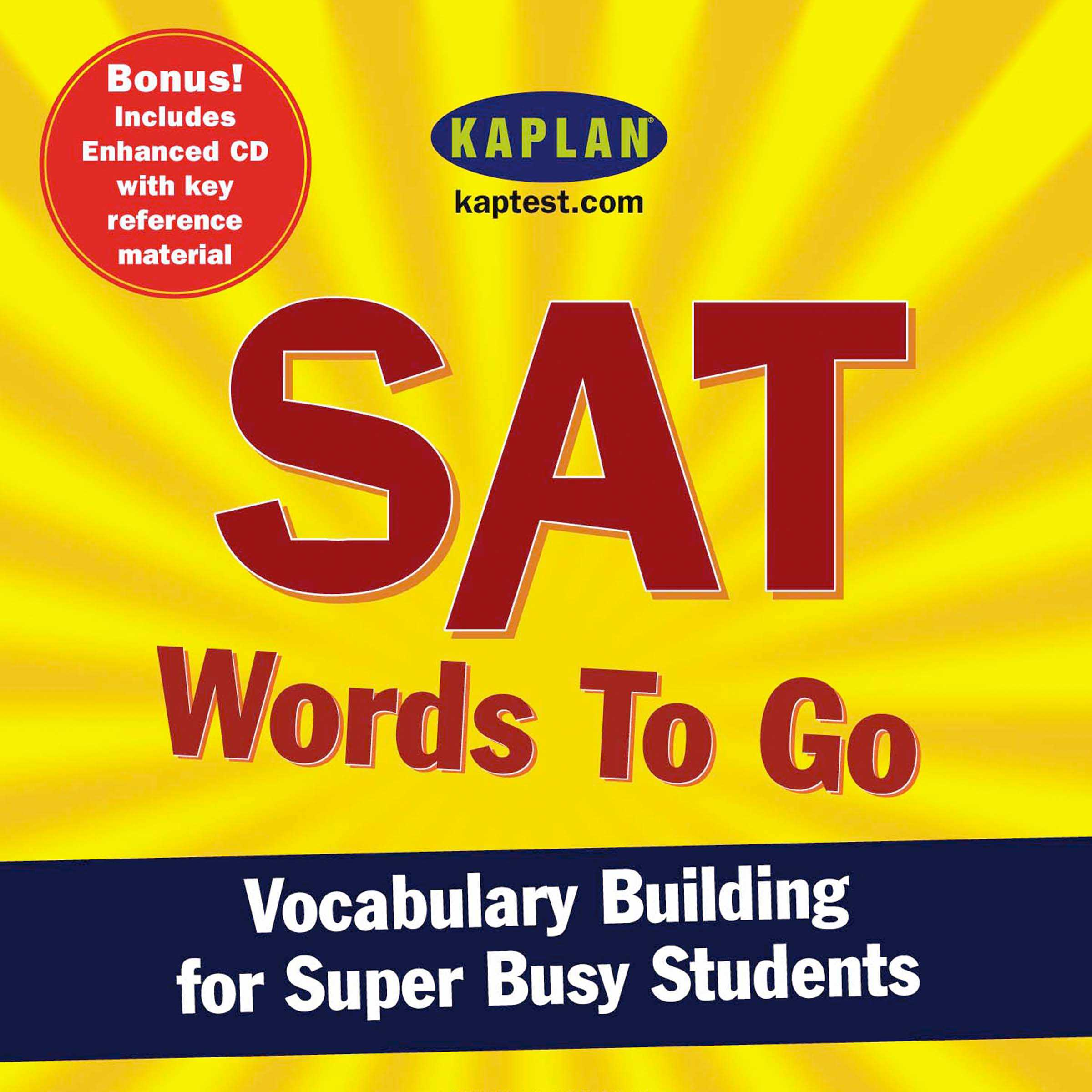 Sat Vocabulary List From Test 1