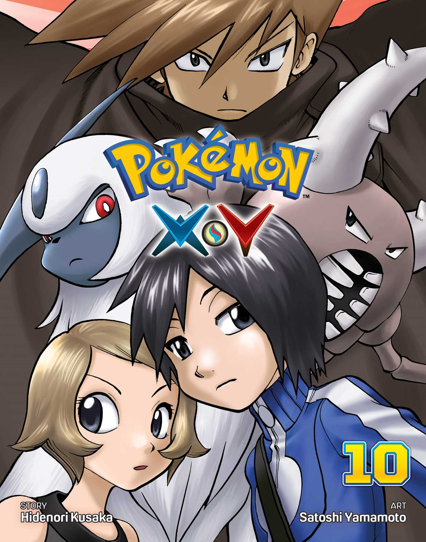 Pokemon X Y Vol 10