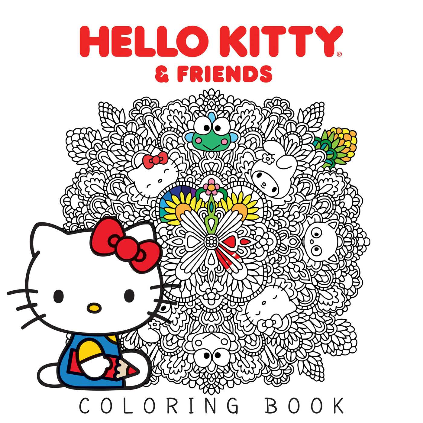 Hello Kitty Amp Friends Coloring Book