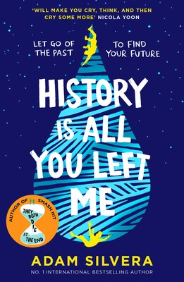 History Is All You Left Me   Book by Adam Silvera ...