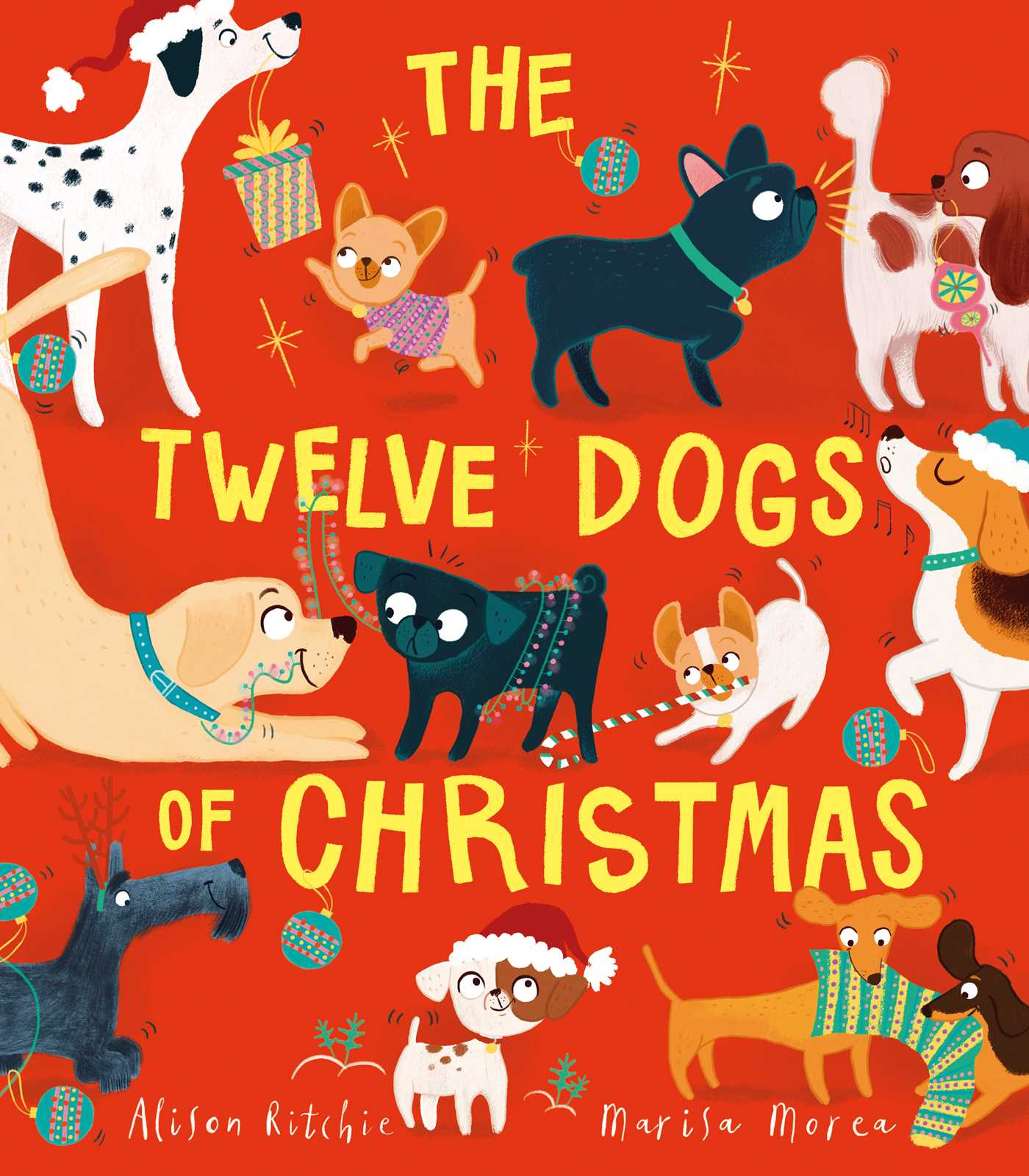 The twelve dogs of christmas 9781471166174 hr