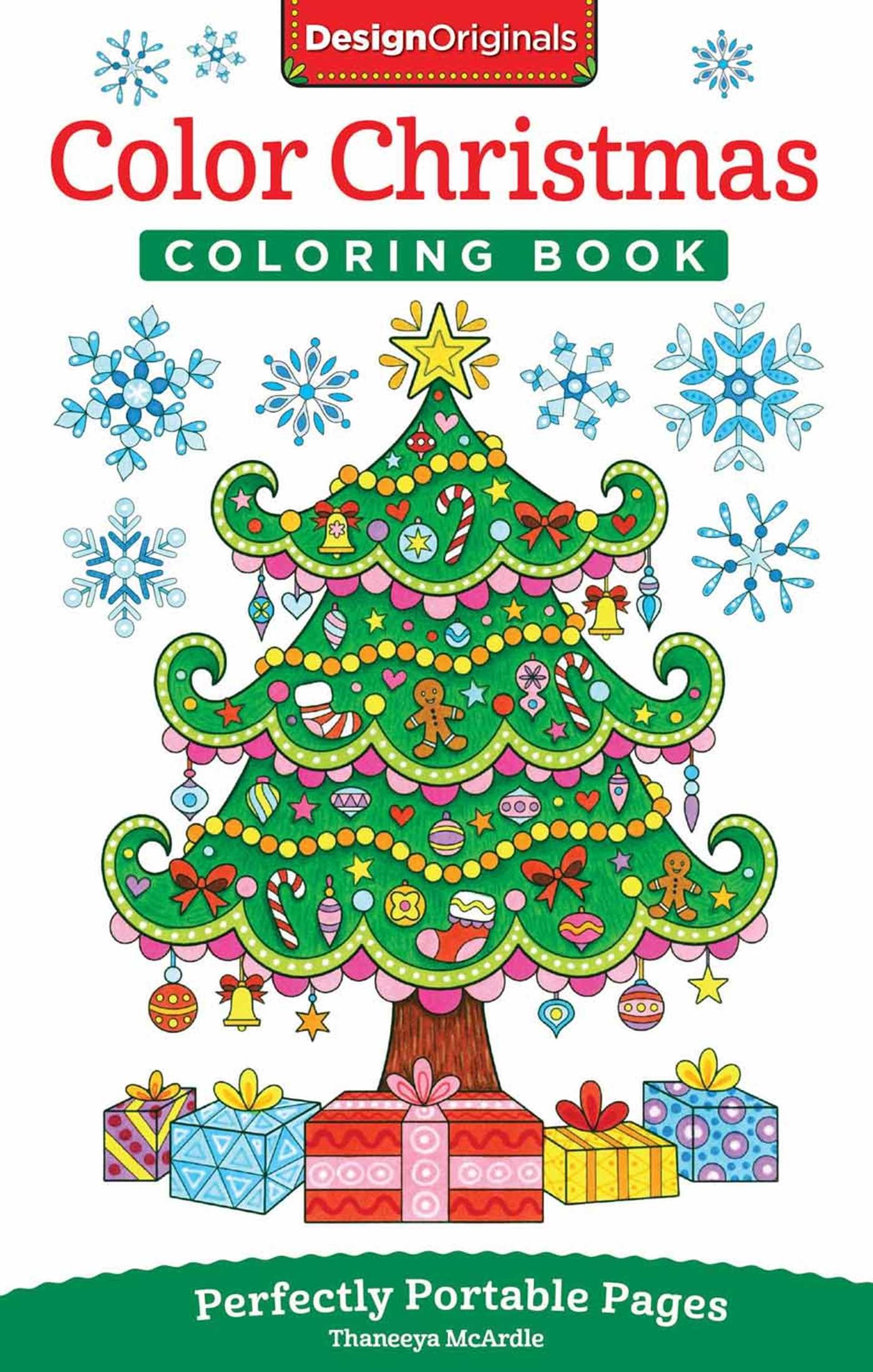 Color Christmas Coloring Book Book By Thaneeya McArdle