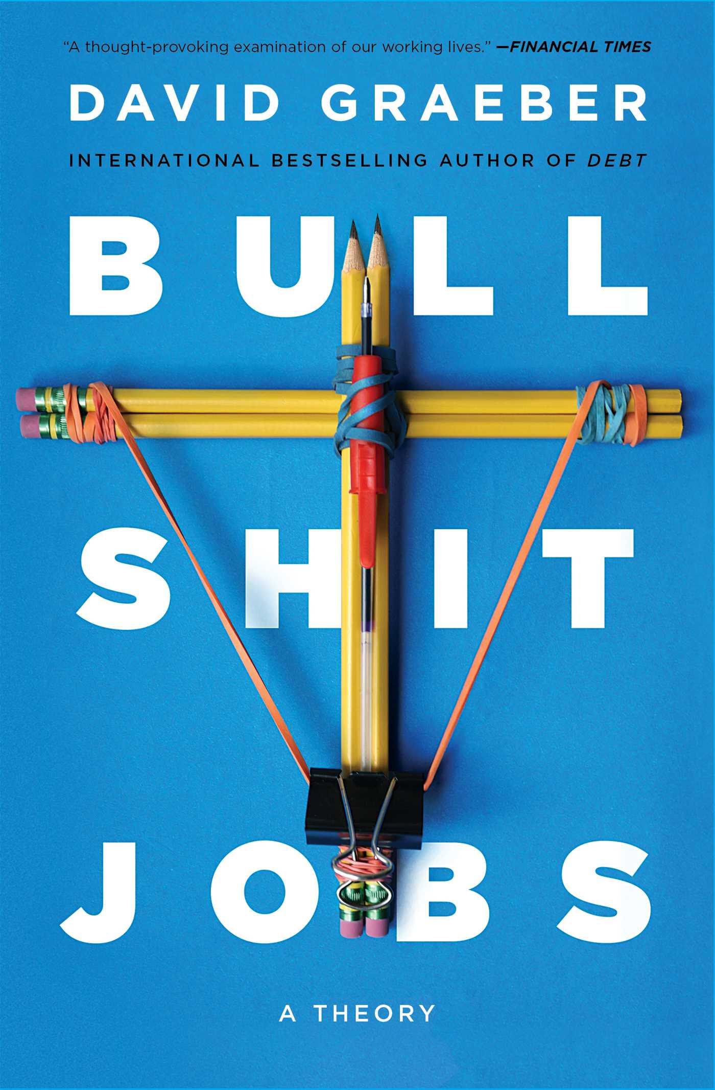 Bullshit jobs 9781501143342 hr