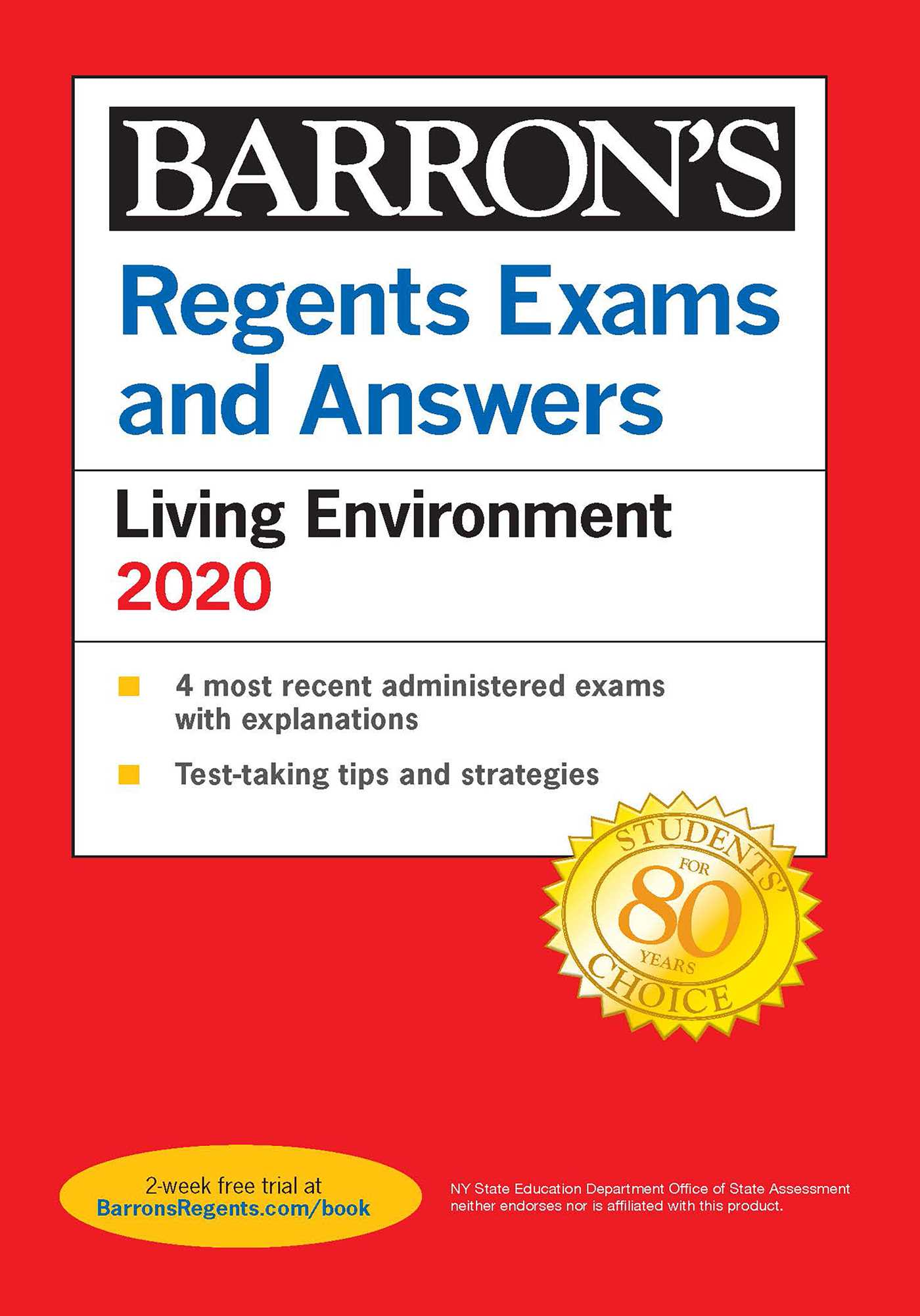 Regents Exams And Answers Living Environment