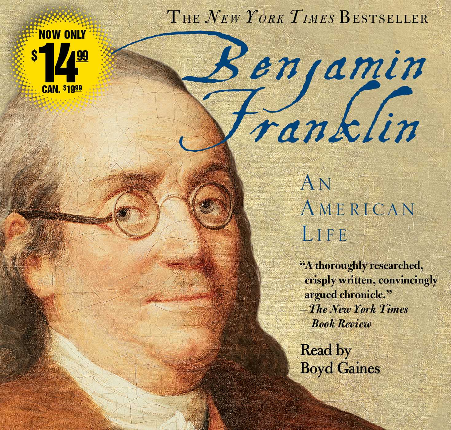 Benjamin Franklin Audiobook On Cd By Walter Isaacson Boyd