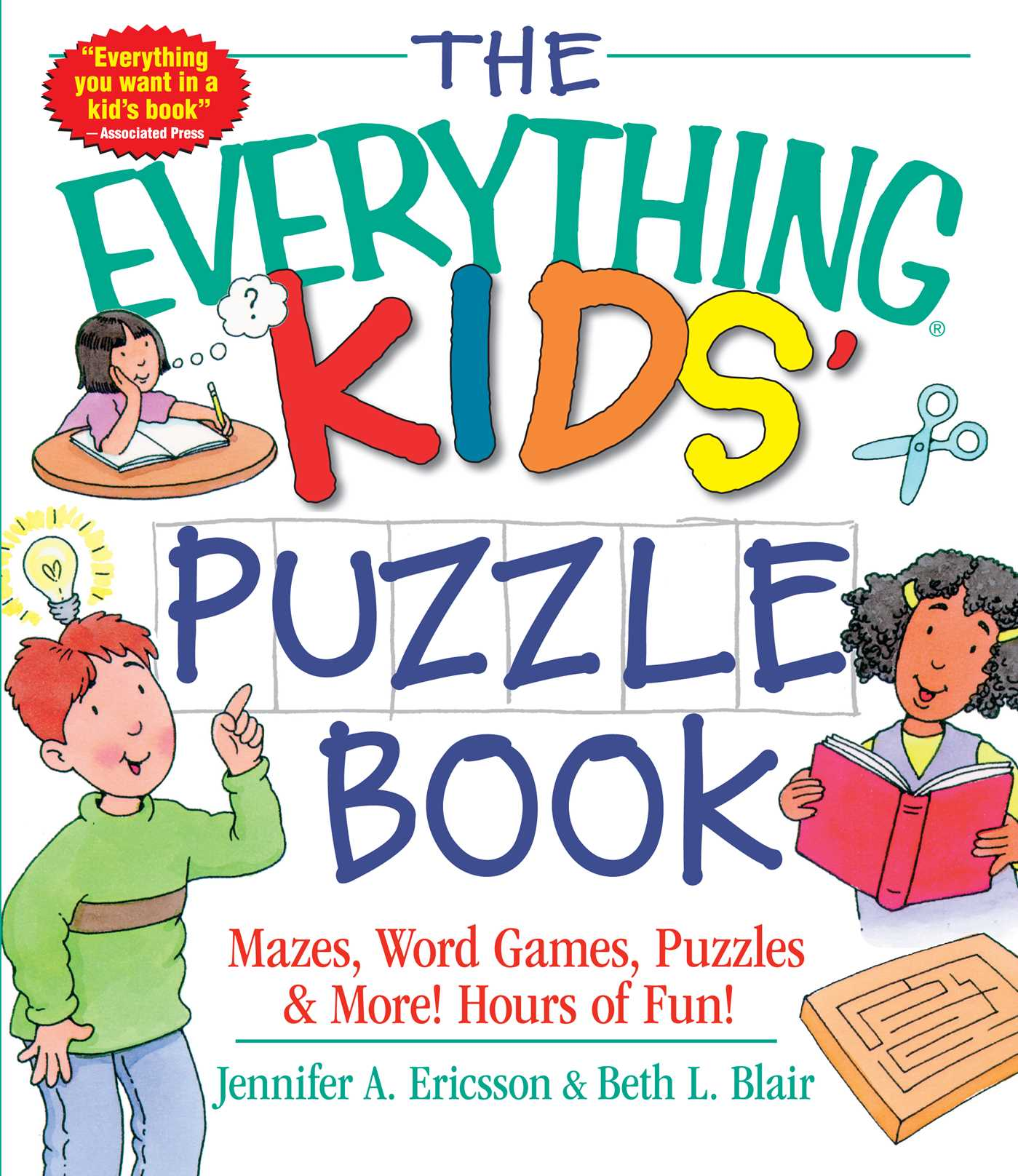 The Everything Kids Puzzle Book