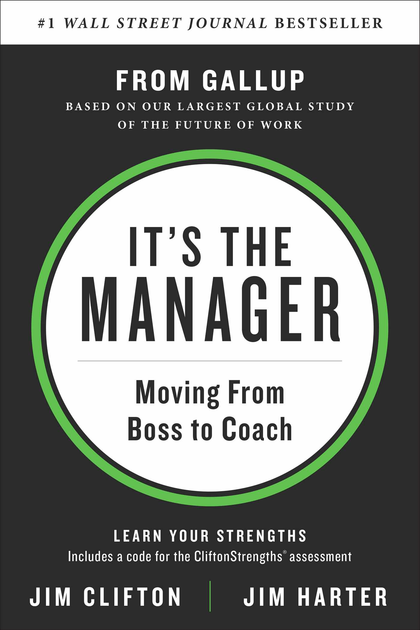 It S The Manager Book By Jim Clifton Jim Harter