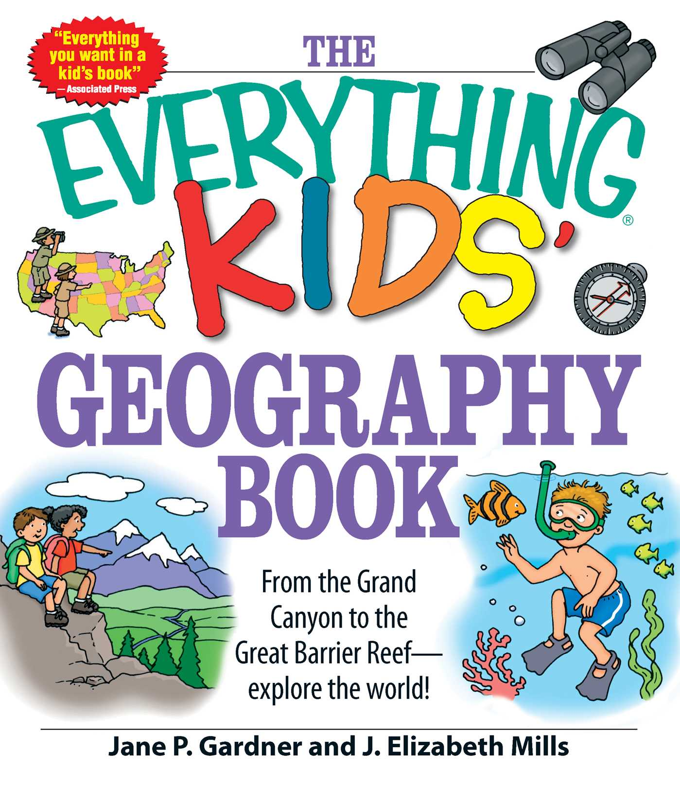 The Everything Kids Geography Book