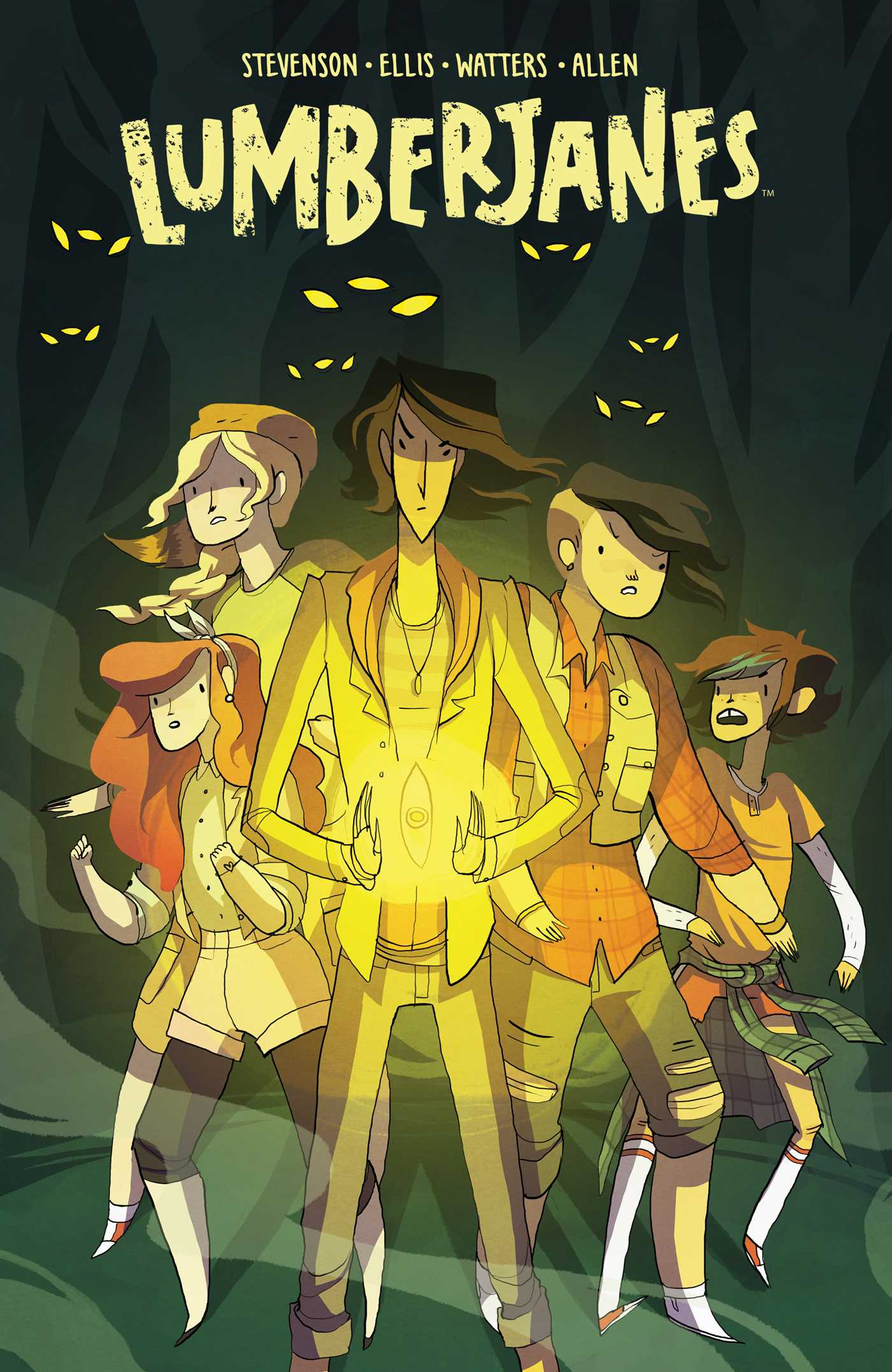 Image result for lumberjanes vol 6