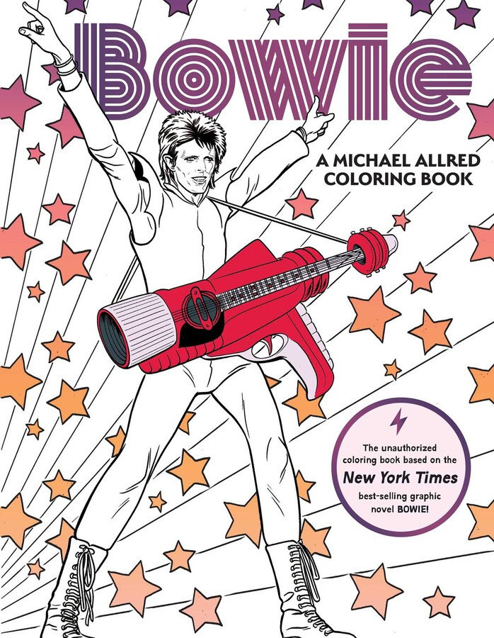 Bowie A Michael Allred Coloring Book Book By Michael Allred Official Publisher Page Simon Schuster