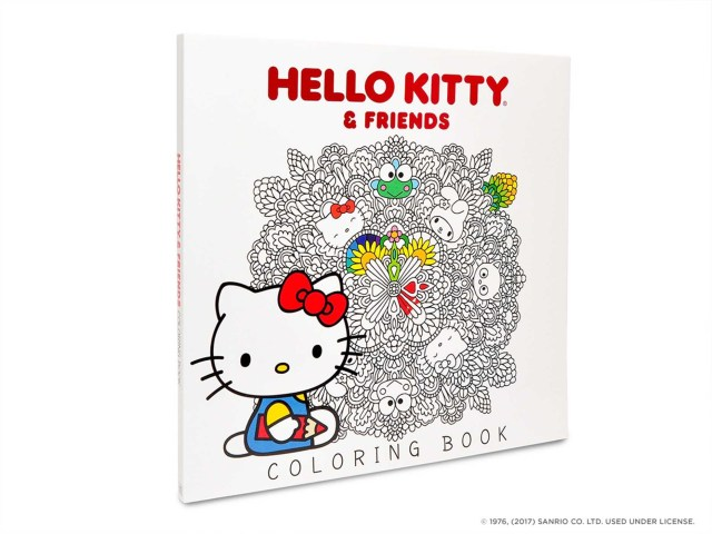 Hello Kitty & Friends Coloring Book  Book by Sanrio  Official