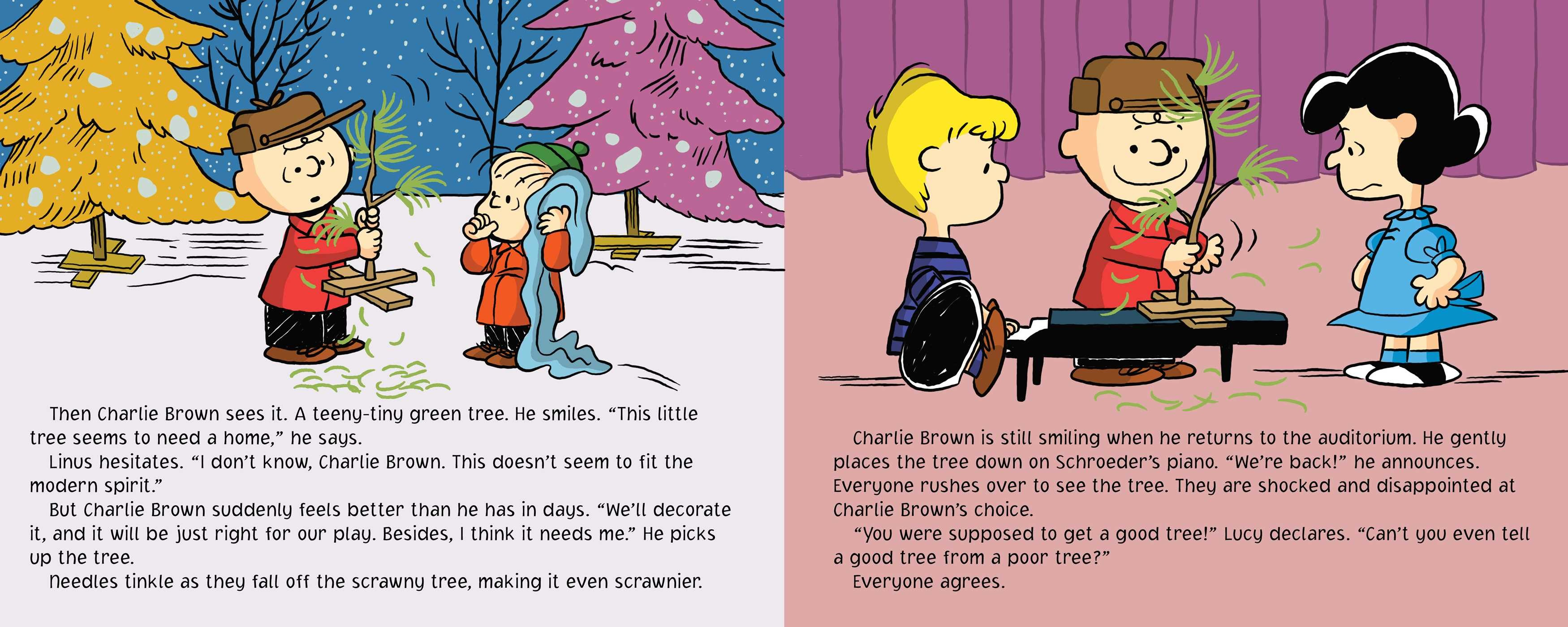 A Charlie Brown Christmas Book By Charles M Schulz