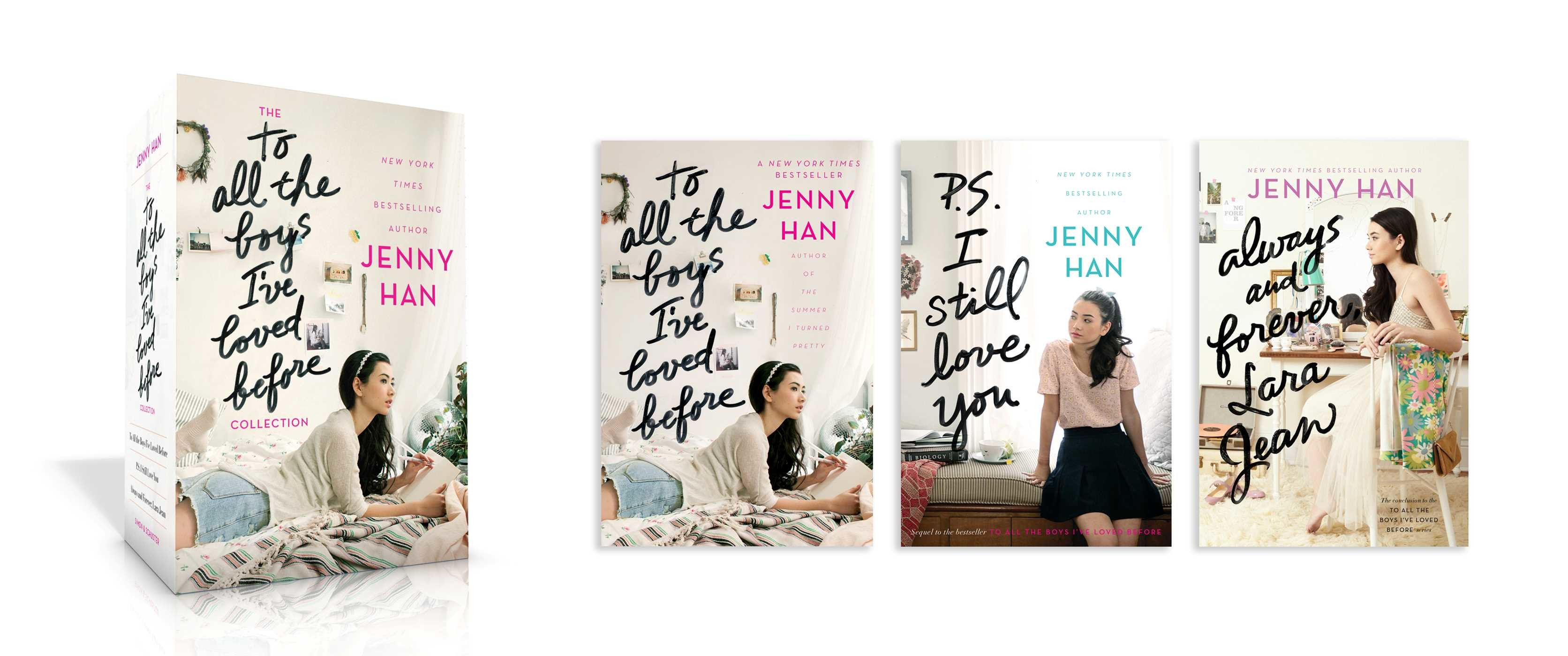 Image result for to all the boys i loved before series box
