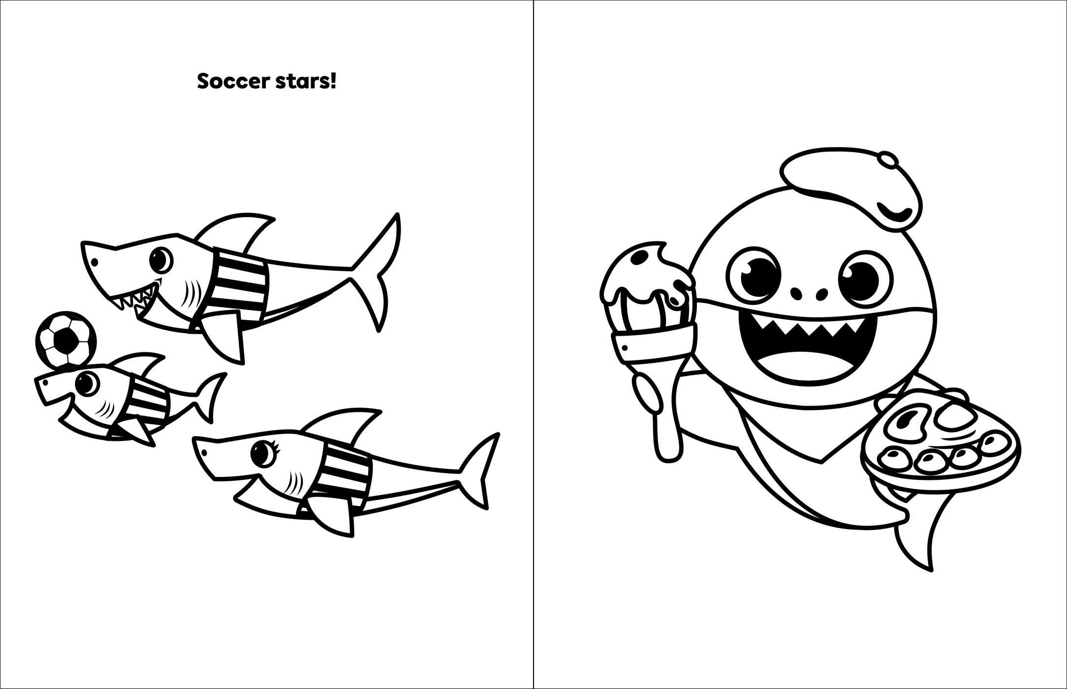 Best Baby Shark Coloring Pages Printable