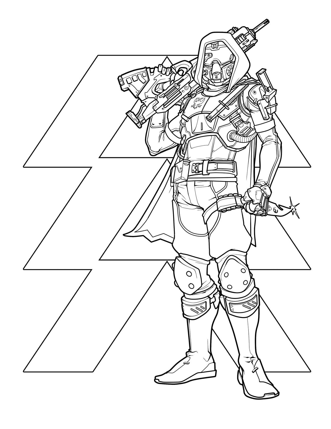Destiny The Official Coloring Book