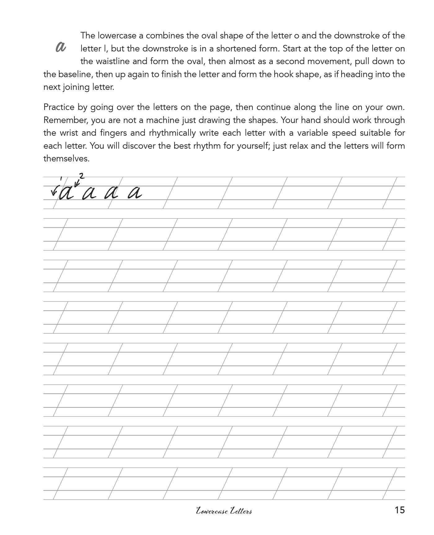 Cursive Handwriting For Adults